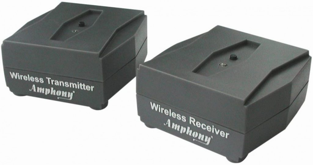 iFinity Wireless audio transmitter and receiver kit